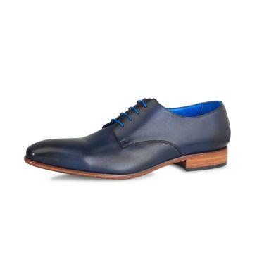 Oscar Calf Leather - Dark Blue