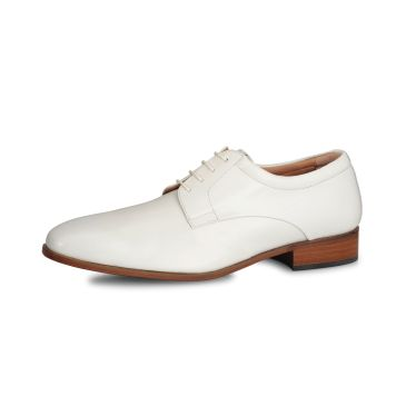 Owen Ivory Calf Leather