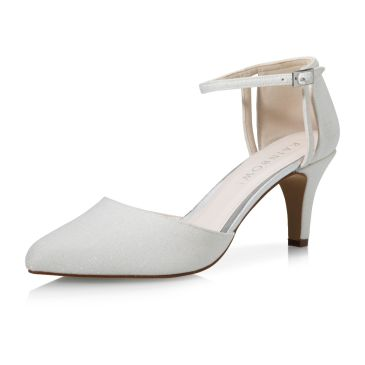Sarina Off-White Metallic