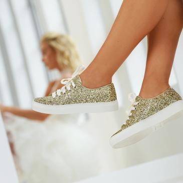 Suzan Gold Glitter