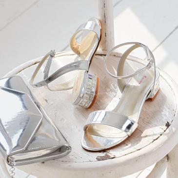 Whitny Silver Mirror