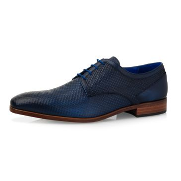 Xavier Calf Leather Texas - Dark Blue