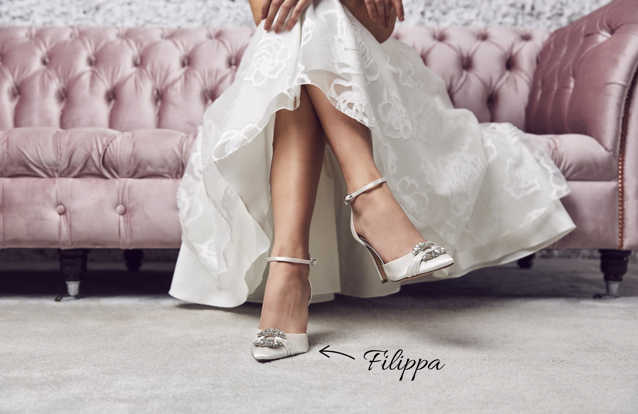 Shoestories Elsa Wedding Shoes Bridal Shoes